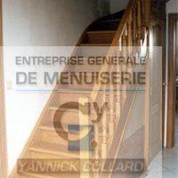 Menuiserie Collard - escaliers